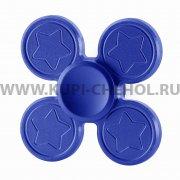 Спиннер металлический Звездочки 9931 синий