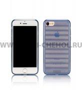Чехол-накладка Apple iPhone 7 Remax Waves синий