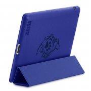 Чехол для планшета Pad 2 / 3 / 4 синий Kruche Print Синий волк