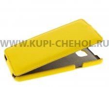 Чехол флип Samsung Galaxy A5 (2016) A510 UpCase жёлтый