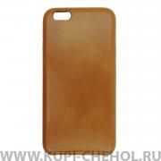Чехол-накладка Apple iPhone 6/6S 22041 светло-коричневый