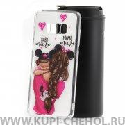 Чехол-накладка Samsung Galaxy S8 21203 Baby Mouse&Mama Mause