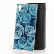 Чехол-накладка Sony Xperia XA1 Plus Лазурные розы