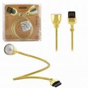Светодиодная лампа для ноутбука  WK WT-L08 Gold