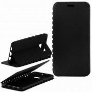Чехол книжка Samsung Galaxy S6 Edge+ G928 П19025 черный флотер