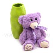 Чехол-игрушка Мишка размерS фиолетовый 8003