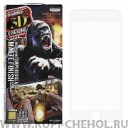 Защитное стекло Apple iPhone 7 Plus  WK Kingkong Gaming 3D White матовое 0.2mm