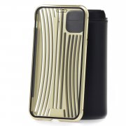 Чехол-накладка iPhone 11 Pro Max Kruche Metal Suitcase Gold