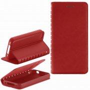 Чехол книжка Apple iPhone 4/4S Book Case New красный