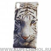 Чехол-накладка Sony D6603 Xperia Z3 Бенгальский тигр