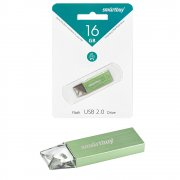 Флеш Smartbuy U10 16Gb Green USB 2.0