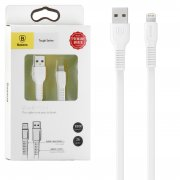 Кабель USB-iP Baseus Tough CALZY-B02 White 1m