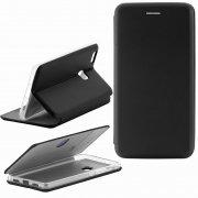 Чехол книжка Huawei P9 Lite Fashion Case с визитницей чёрный