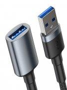 Кабель USB(M)-USB(F) Baseus Cafule Dark gray 2A 1m