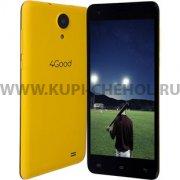 Телефон 4GOOD  S555M  4G Yellow