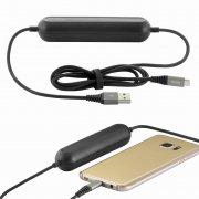 Power Bank-кабель micro USB 2000 mAh Hoco U22 Black 1.2m