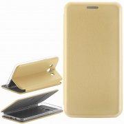 Чехол книжка Samsung Galaxy J5 2016 9805 золотой