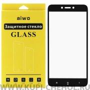 Защитное стекло Xiaomi Redmi 5A Aiwo Full Screen черное 0.33mm