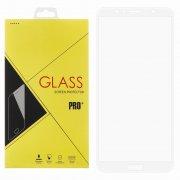 Защитное стекло Huawei Honor 7A Pro Glass Pro Full Glue белое 0.33mm