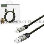 USB Apple iPhone 5 Hoco U27 Gray 1.2m