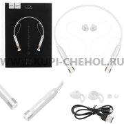 Спортивная bluetooth-гарнитура HOCO ES6 White