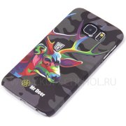 Чехол-накладка Samsung Galaxy S6 G920 Mr.Deer 8753 фосфор
