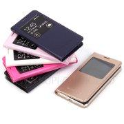 Чехол книжка Samsung G850f Galaxy Alpha Flip Cover 6572 розовый + задняя крышка