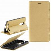 Чехол книжка Lenovo K5 Note Book Case New золотой Вид1