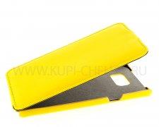 Чехол флип Samsung Galaxy Note 5 UpCase жёлтый