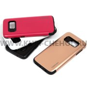 Чехол-накладка Samsung Galaxy S7 0274 тёмно-розовый