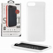Чехол+АКБ Apple iPhone 7 Plus 3600 mAh WK Saki WP-029 White