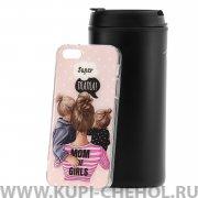 Чехол-накладка Apple iPhone 5/5S/SE 21204 Super Mama