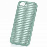 Чехол-накладка Apple iPhone 5/5S/SE 9307 бирюзовый