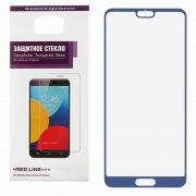 Защитное стекло Huawei P20 Red Line Full Screen синее 0.3mm