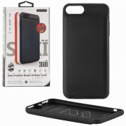 Чехол+АКБ Apple iPhone 7 Plus 3600 mAh WK Saki WP-029 Black