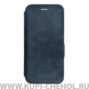 Чехол книжка Samsung Galaxy A50 2019 Mira темно-синий