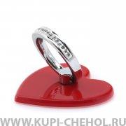 Кольцо-держатель WK WA-S29 Heart Red