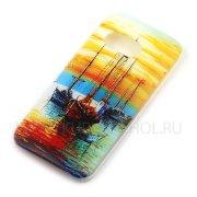 Чехол пластиковый HTC One Mini 2 / M8 mini Живопись 7833