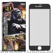 Защитное стекло Apple iPhone 7 Plus  WK Kingkong Gaming 3D Black матовое 0.2mm