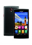 Телефон Philips S337 Black Red