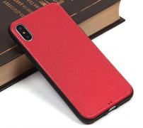 Чехол-накладка Apple iPhone X 9251 красный