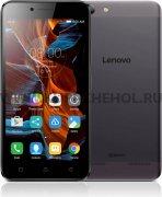 Телефон Lenovo A6020 DS LTE Grey
