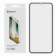 Защитное стекло Apple iPhone XR/11 Red Line Full Glue 3D чёрное 0.33mm