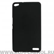 Чехол силиконовый Huawei MediaPad X1 7.0 черный матовый 0.8mm