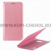 Чехол книжка Samsung Galaxy S7 Flip Cover розовый 6572