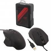 Мышка компьютерная проводная Remax V3501 Black