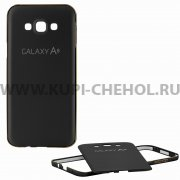 Чехол-накладка Samsung Galaxy A8 A800f 9077 чёрный