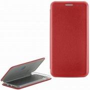 Чехол книжка Apple iPhone 7 Plus Fashion Case с визитницей красный
