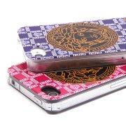 Чехол-накладка iPhone 4 / 4S 8443 розовый