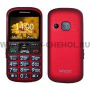Телефон Ginzzu R12D красный